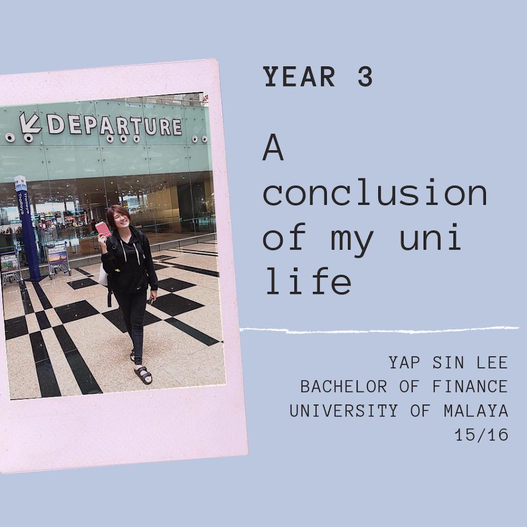 【关于自己】马来亚大学大三生活:在我人生最重要的一年,警钟找上门,思想转折点。到欧洲交换半年,到小公司实习半年,才领悟到我的人生观