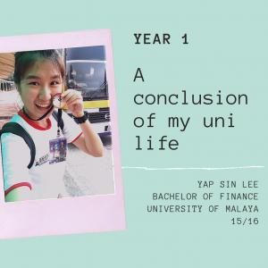 【关于自己】马来亚大学大一生活:尝试新事物,把大学第一年忙得喘不过来